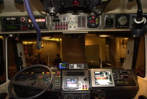 Inside the MaxiMog Cockpit