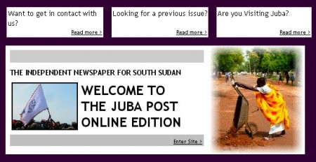 the Juba Post Online