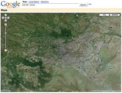 Google Maps Africa With Satellite Imagery WhiteAfrican - Google earth map via satellite