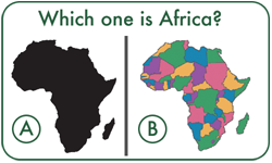 Which one is Africa?