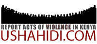 Ushahidi - Report acts of violence in Kenya