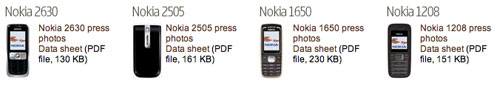 Nokia Phones for Emerging Markets