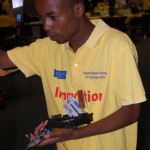 IEEE Kenya - Sammy Njoroge and his satellite tracking