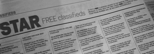 Star Newspaper in Kenya - SMS classifieds