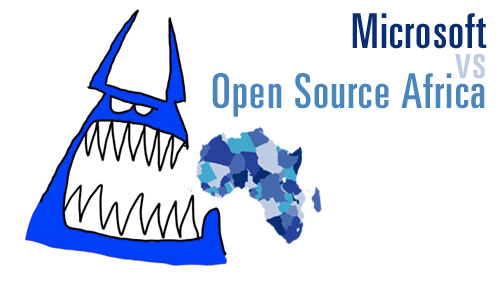Microsoft vs the open source community in Africa