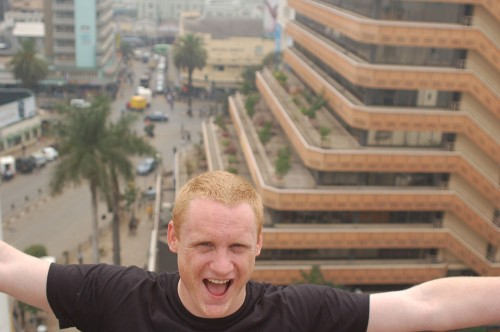 Rob Stokes of Quirk in Nairobi