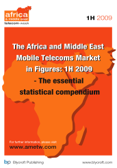 Africa and Middle East Mobile Telecoms Market in Figures: Q2 2009