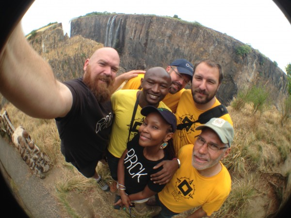 The BRCK Expedition at Victoria Falls
