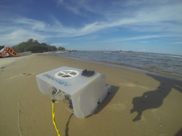 The OpenROV set to try Lake Malawi